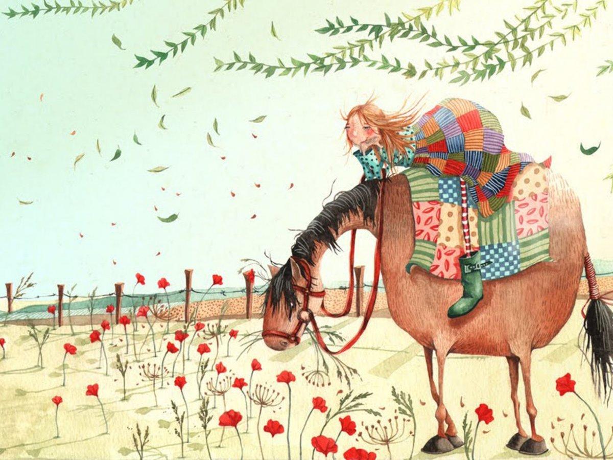 Открытка с прикольной лошадью, сделать гифки