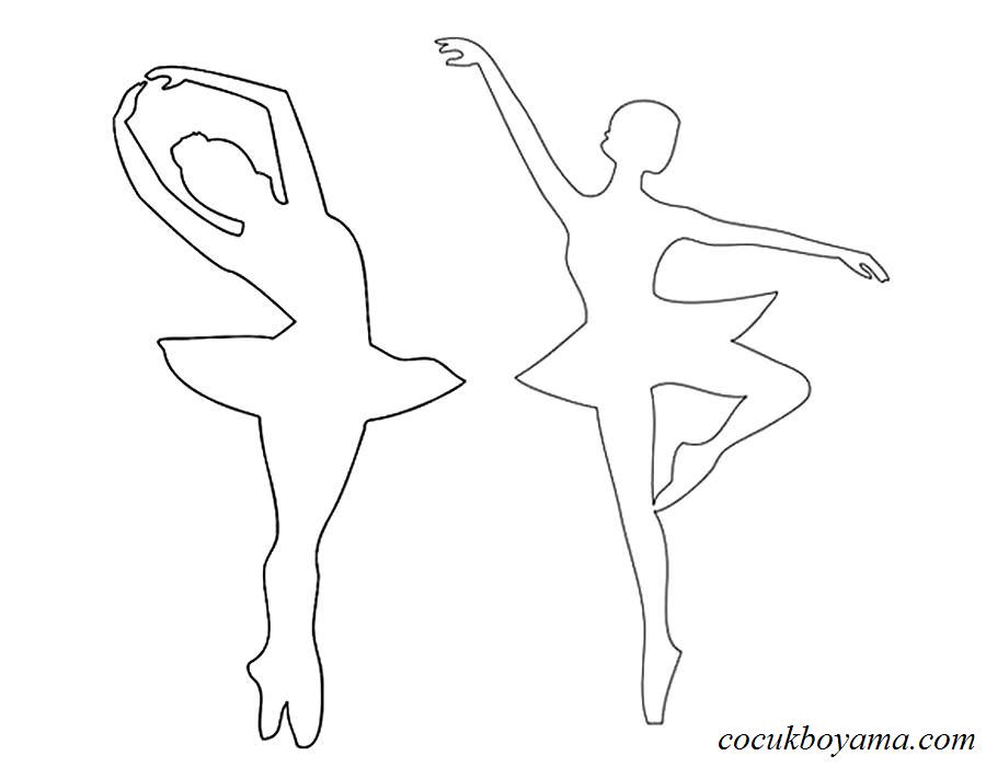 Balerin 29 ücretsiz Boyama Resimleri Card From User Origamiu