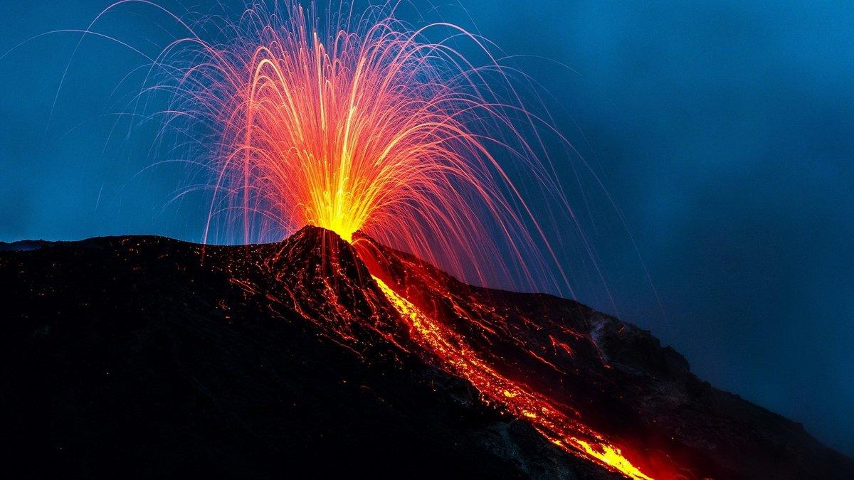 Красивые вулканы картинки