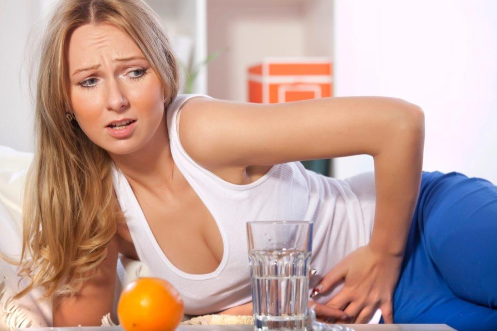 Почему изжога если я на диете