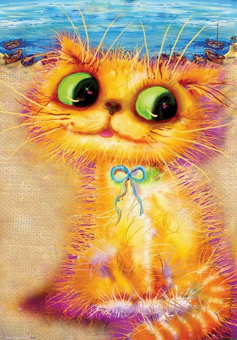 Рыжий кот смешные рисунки, для ударников
