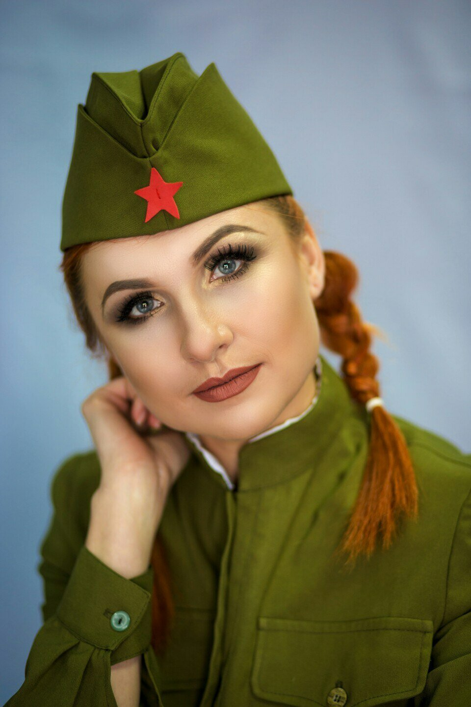 Поздравление военных девушек
