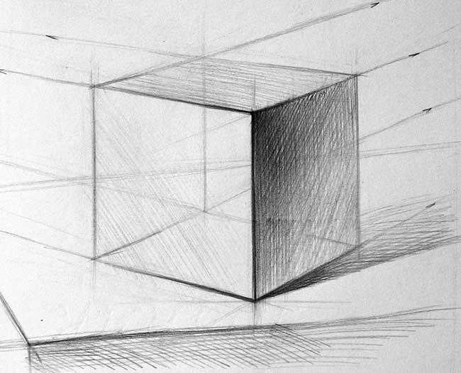 куб в тоне