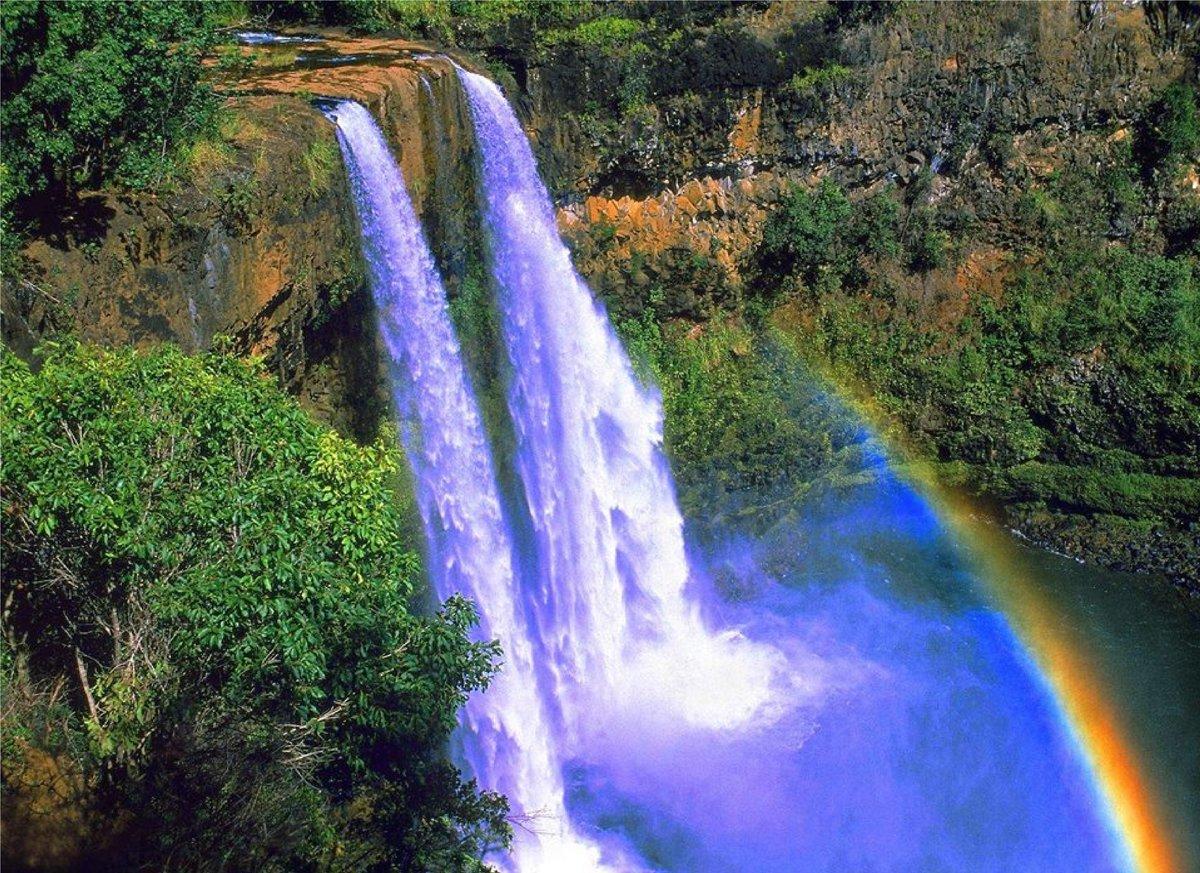 Картинки водопадов анимации