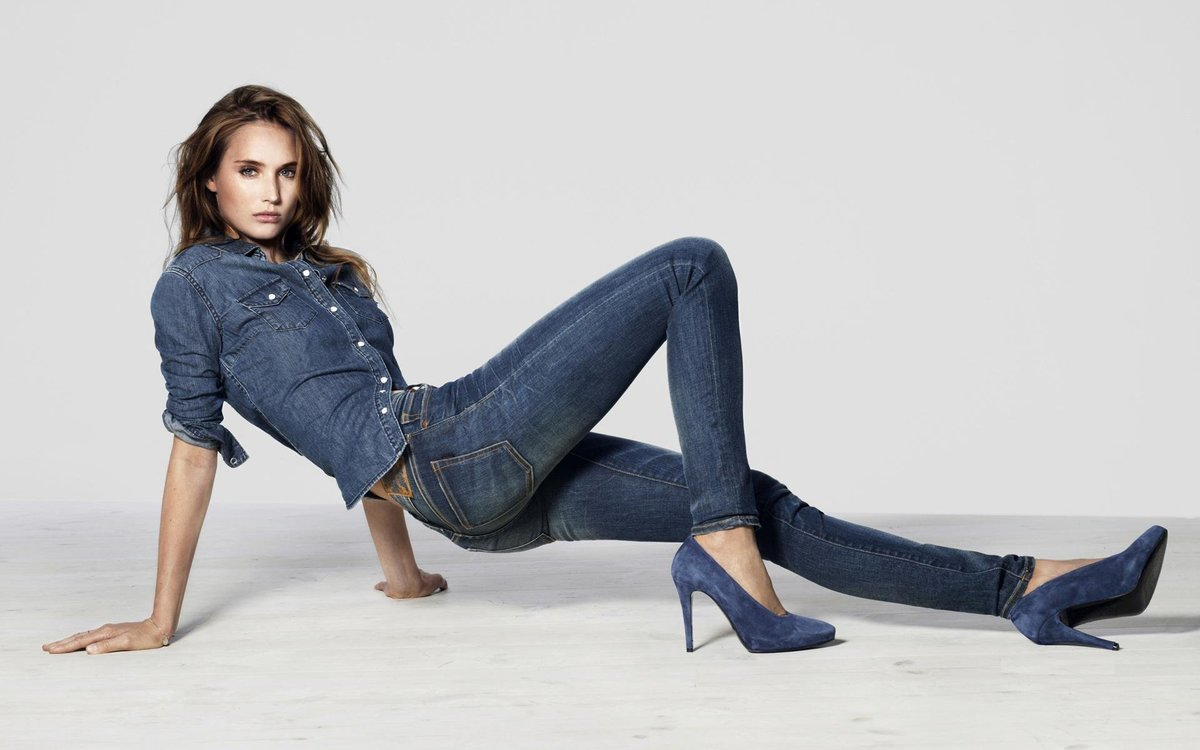 фото галереи женщин в джинсах и брюках - 1