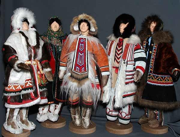приобщился ненецкий национальный костюм фото мужской и женский общается
