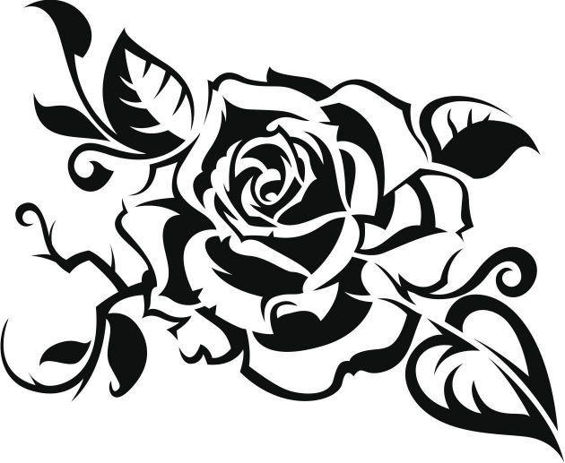 dibujos de rosas para colorear - Buscar con Google Трафареты ...