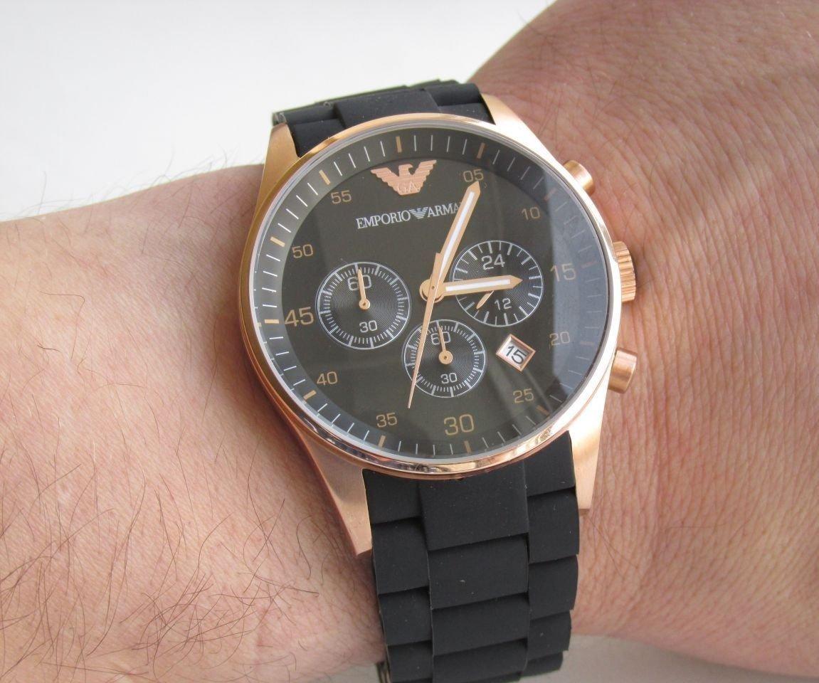 Emporio armani retro ar emporio armani — мужские часы.