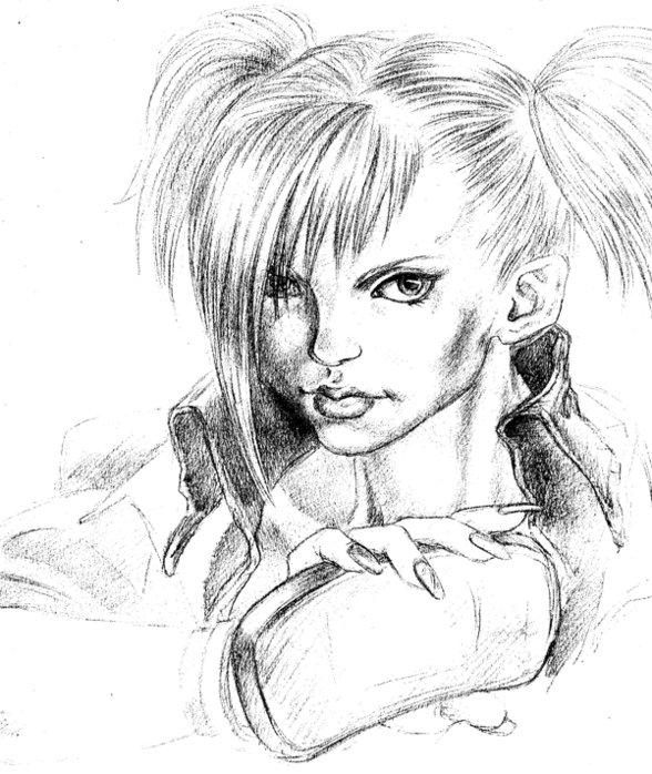 Рисунки карандашом прикольные женщины, картинки колядой