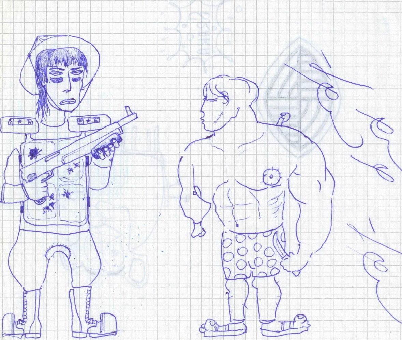 Юбилее анимированные, смешные рисунки на уроках карандашом