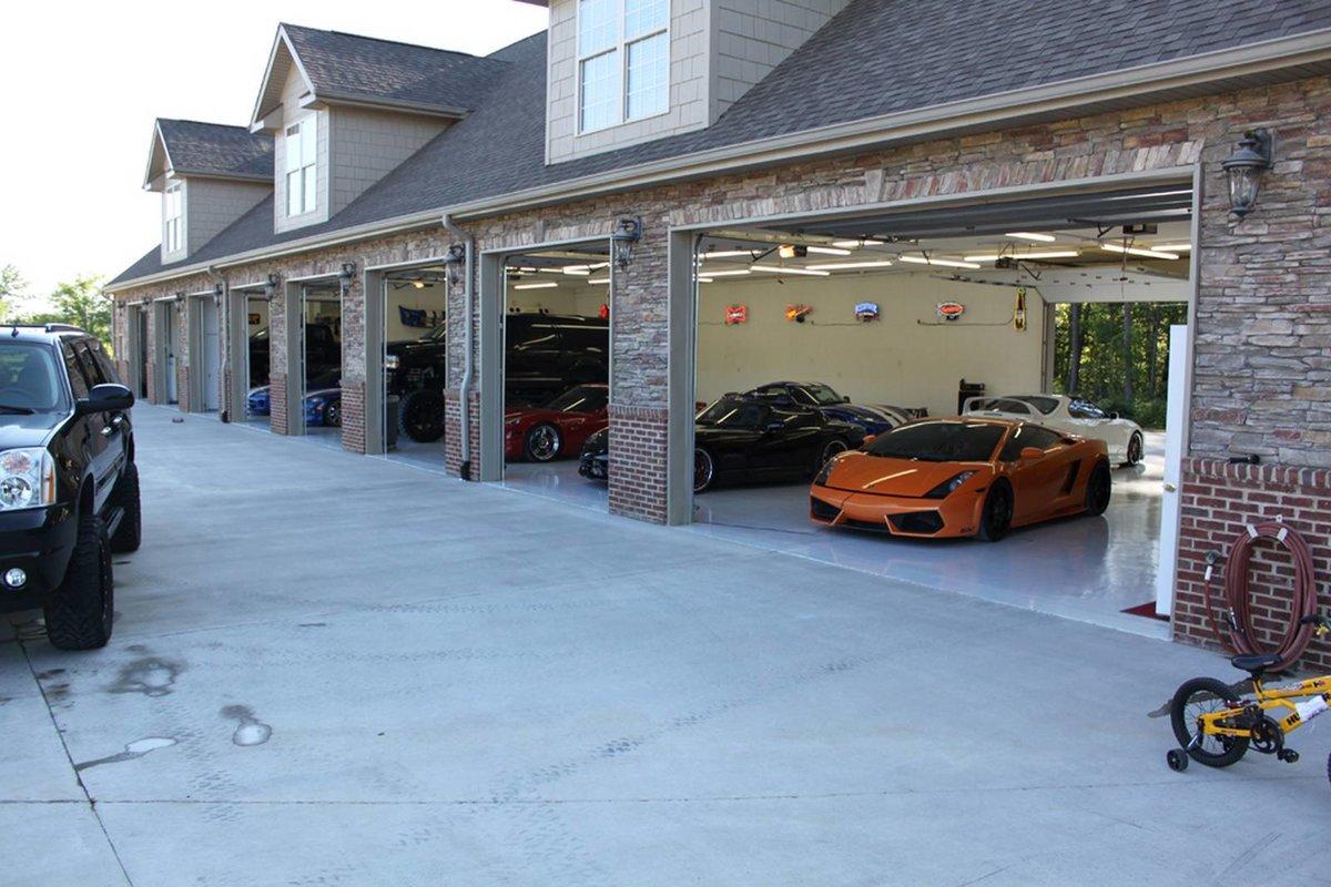 гараж на 10 машин