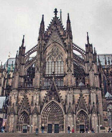 римско-католический готический кёльнский собор