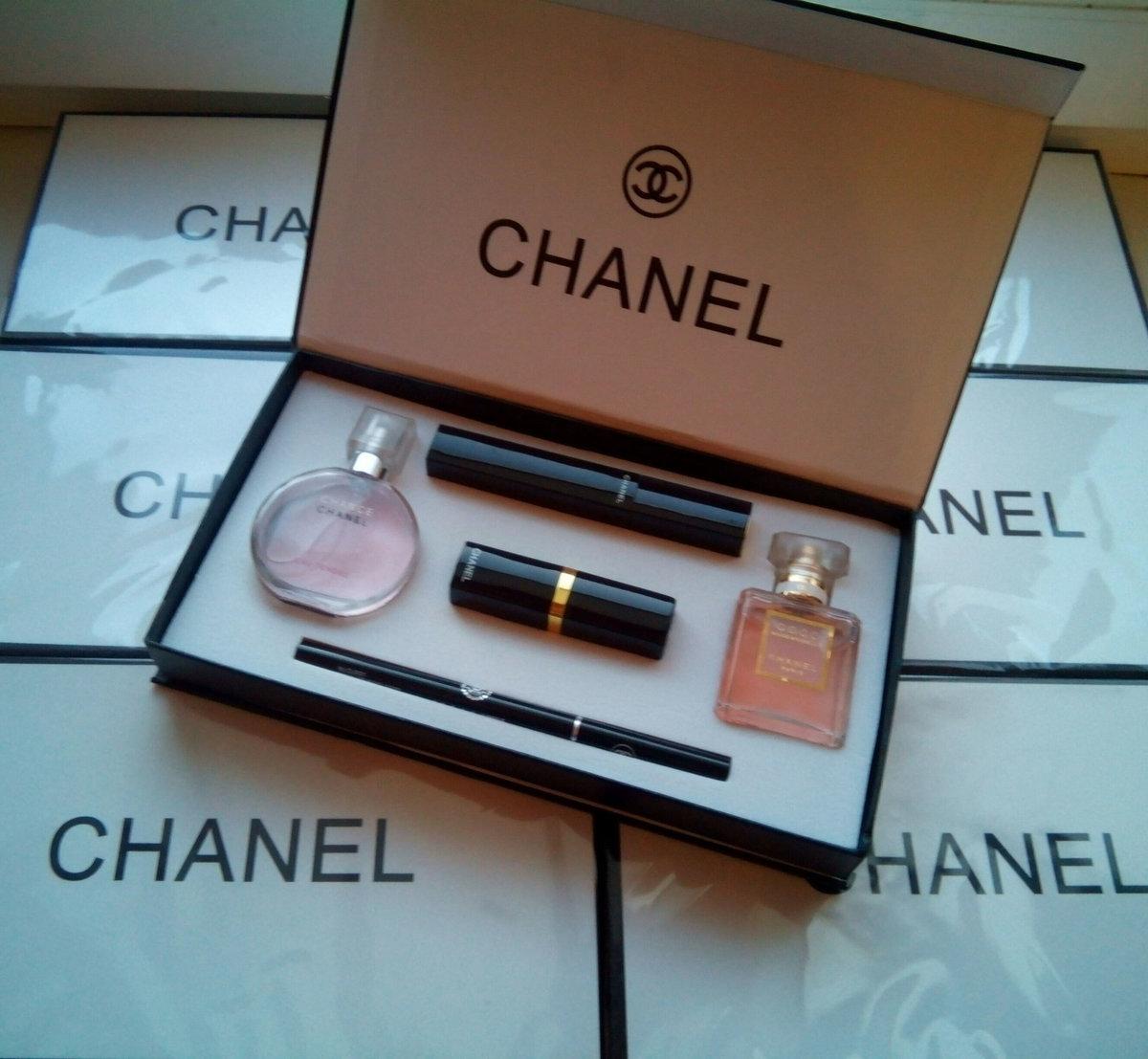 a0ceccbbee3f Набор 5 в 1 от Chanel. Набор chanel 5 in 1 оптом Официальный сайт ...