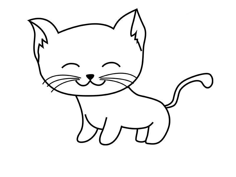 Картинки одноклассниках, детские рисунки кошек карандашом
