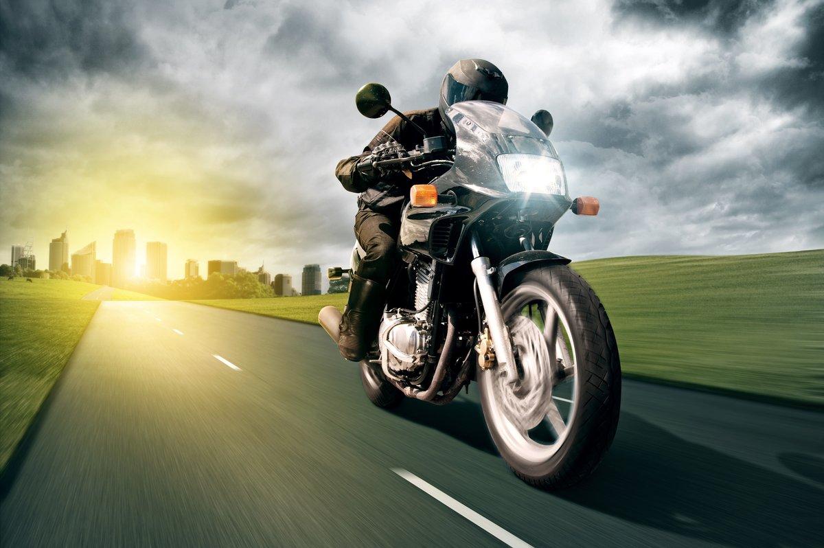 Видео открытка с мотоциклами, открытка