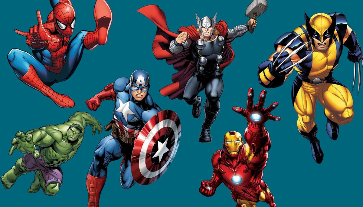 забываем, картинки супергероев вселенной марвел они