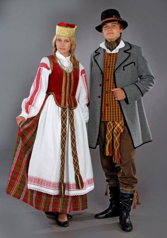 Эстонский народный костюм фото