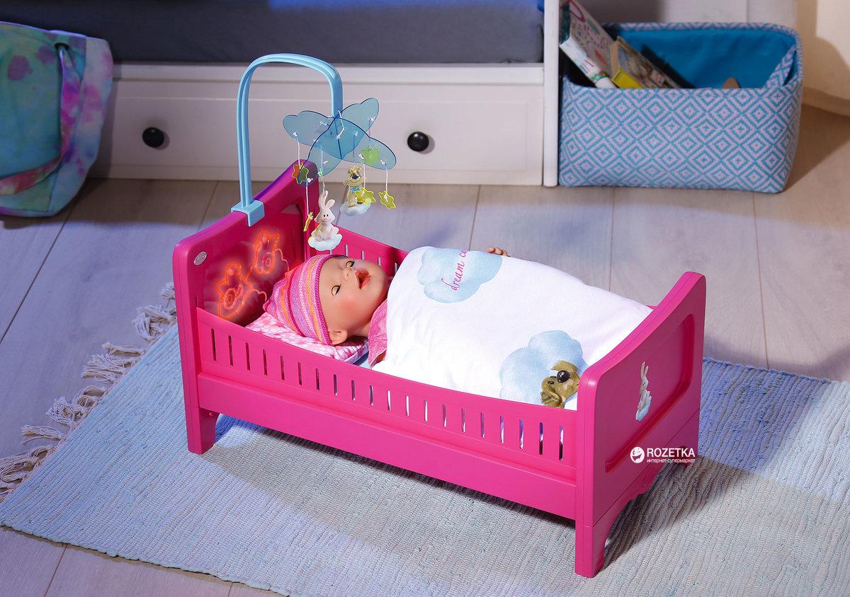 Картинки для детей кукла в кроватке, открытках