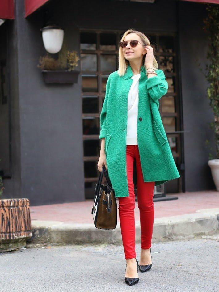 ничего с чем носить бледно зеленое пальто фото подразделения