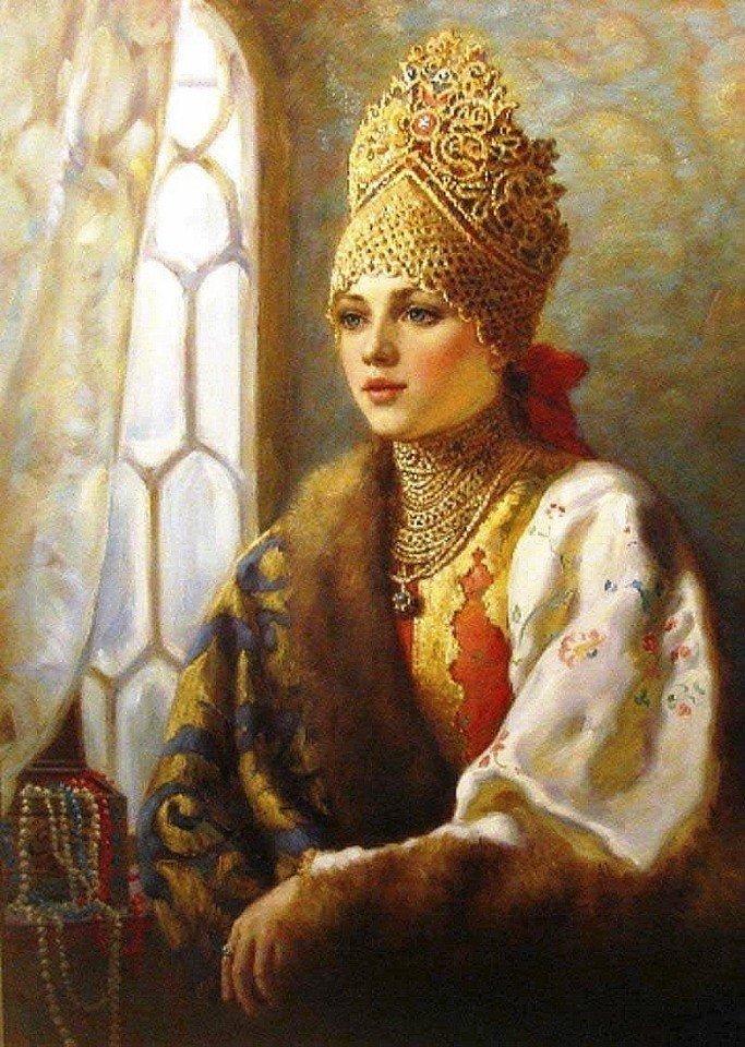 Русские красавицы картинки
