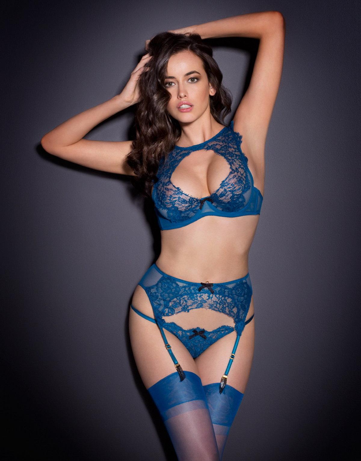 Сексе картинки девушек в синем нижнем белье