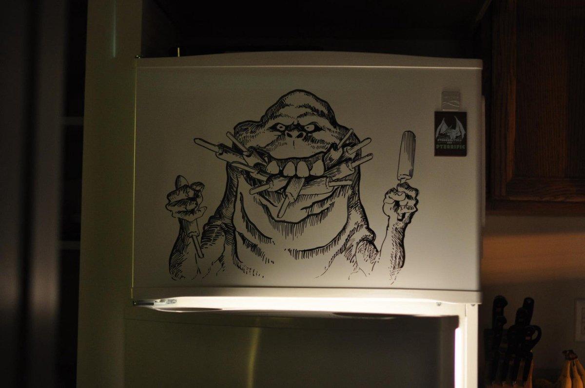 Скрапбукинг, веселый рисунок фломастером