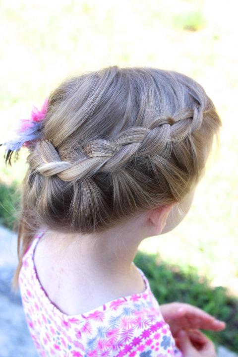 Easy Princess Bubble Braid Hair Tutorial Http
