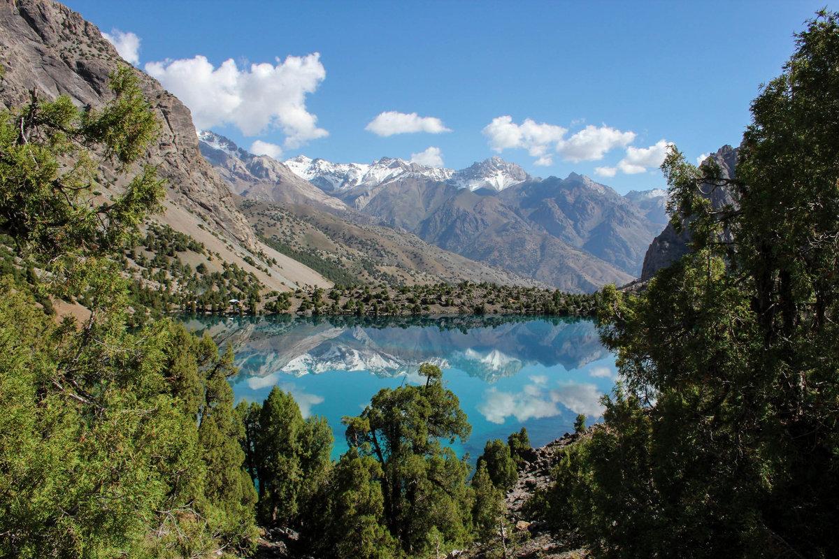 качестве претендентов красивые места таджикистана фото композиции составить проще