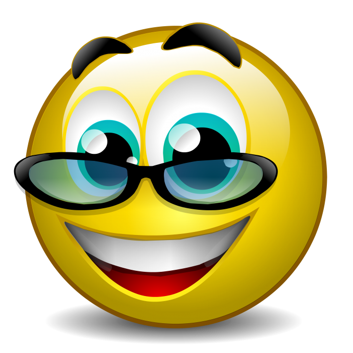 Тему сказки, картинки смешной смайлик в очках