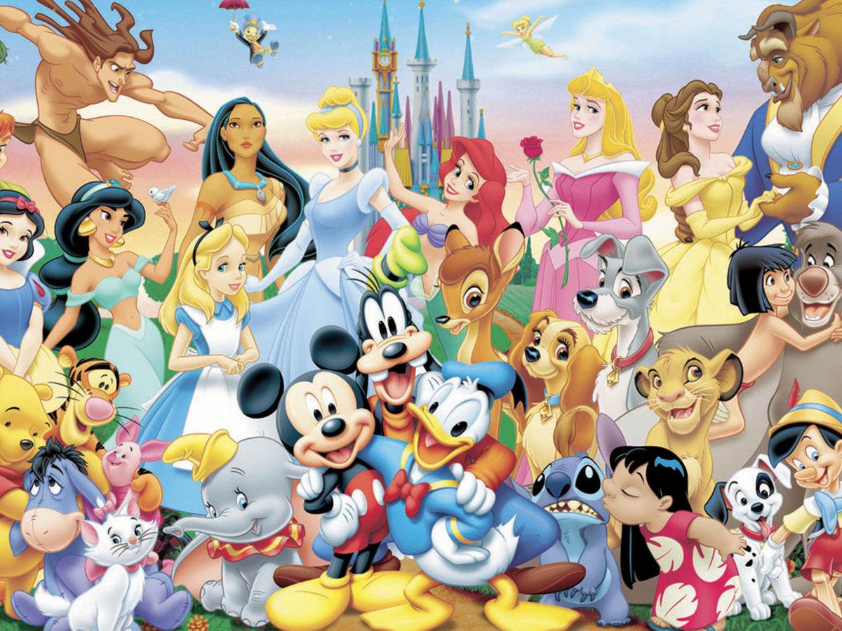 Картинки с героями из мультфильмов дисней, для поздравления