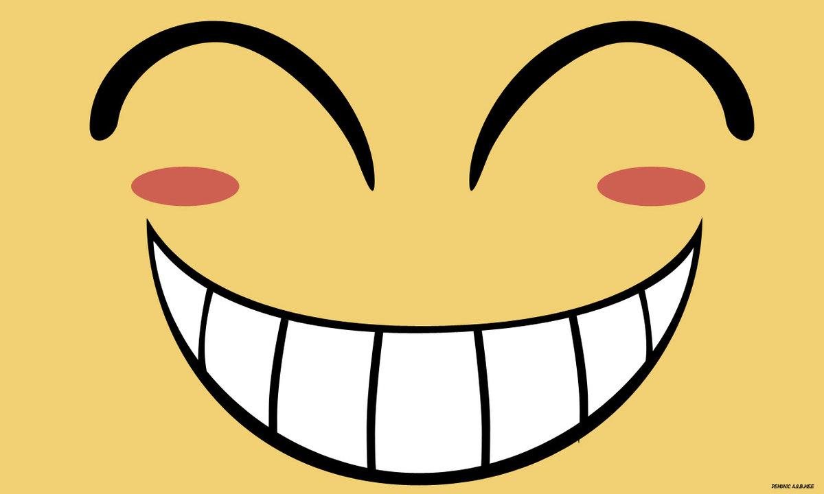 Прикольные улыбки в рисунках