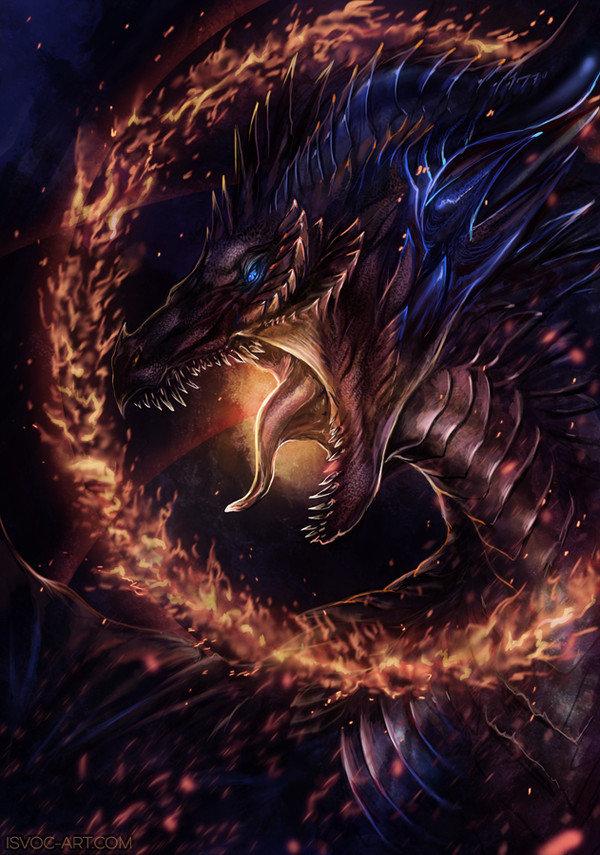 Картинки необычный дракон своей питательной