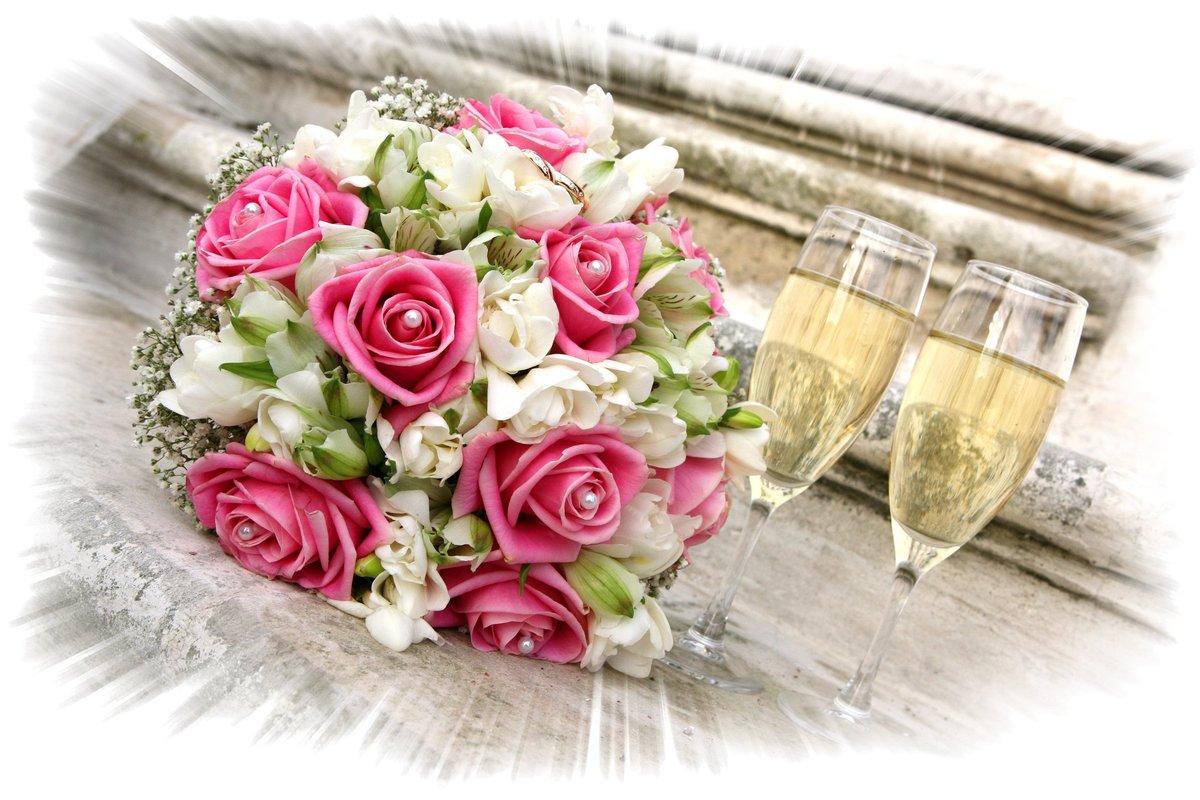 открытка с розами в день свадьбы день воспитателя педагогам