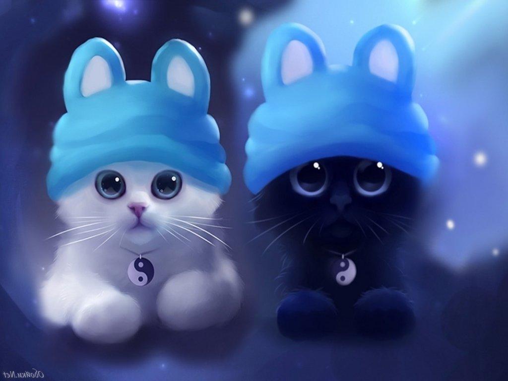 темы 308 на телефон мультяшки кошки