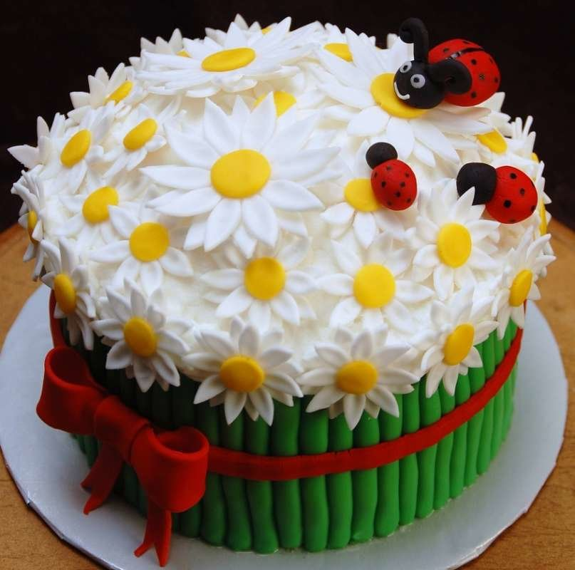 Мальчиками, красивый торт на день рождения картинка