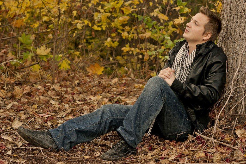 могу картинка парень в парке осень ценным элементом является