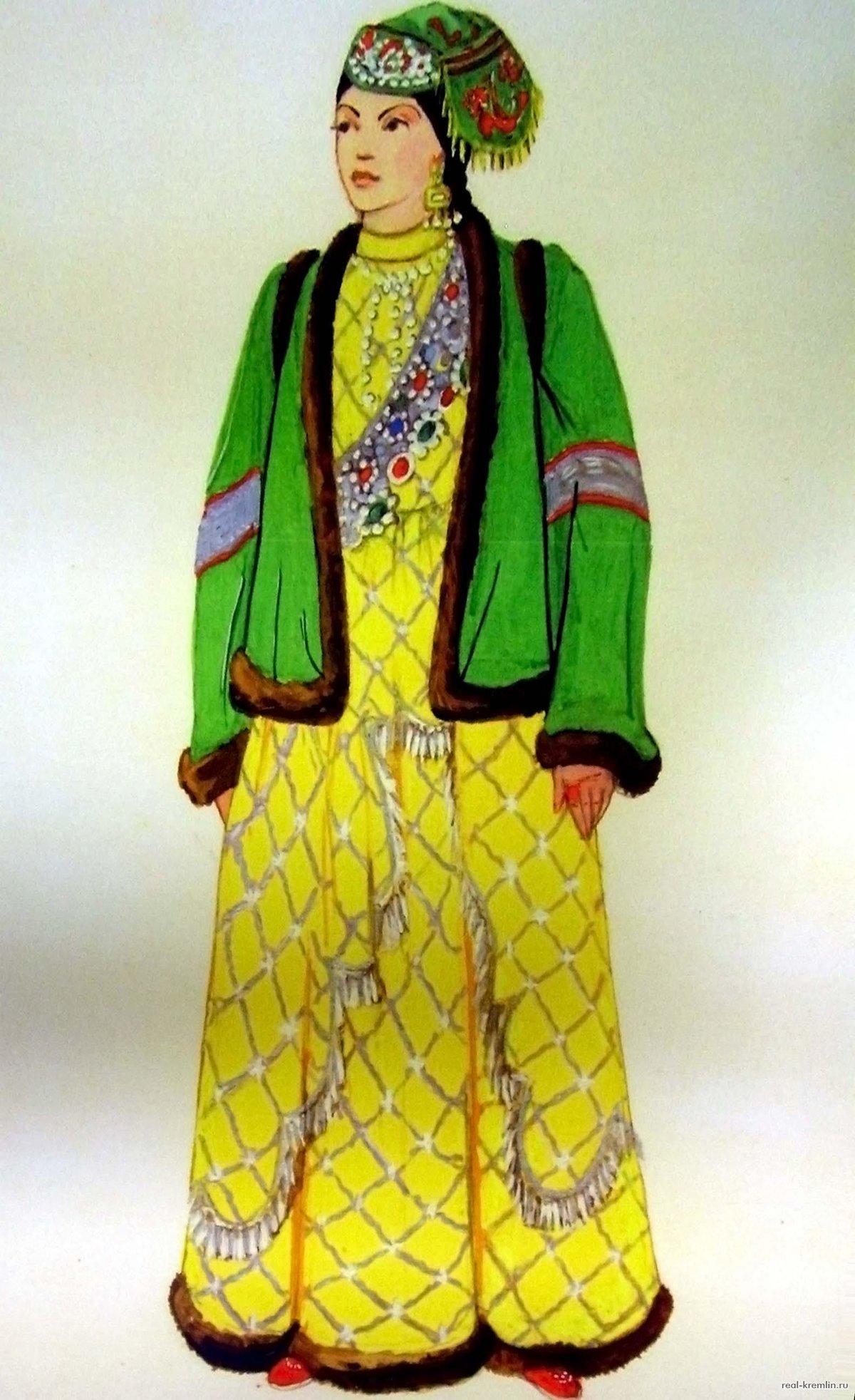 Картинки народного костюма татаров
