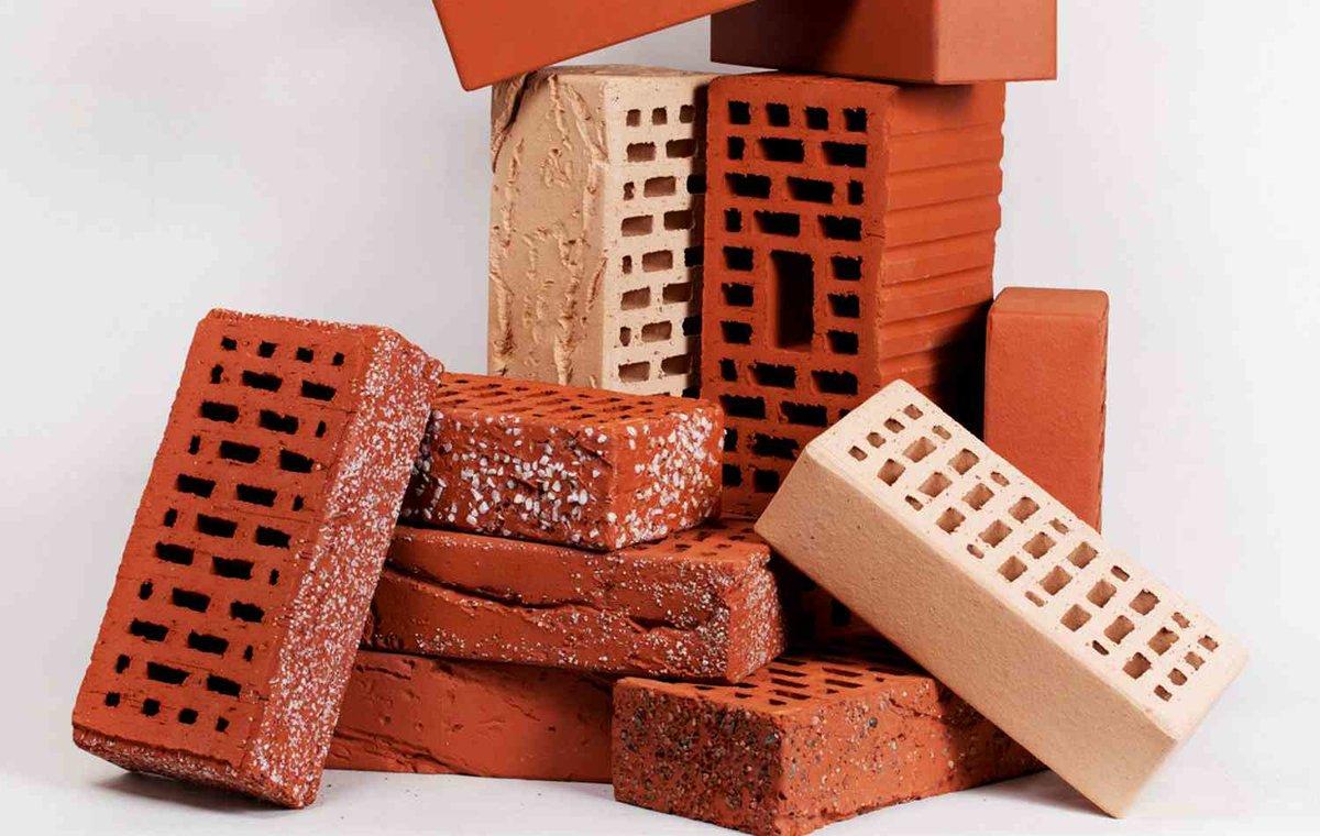 красный керамический кирпич строительный