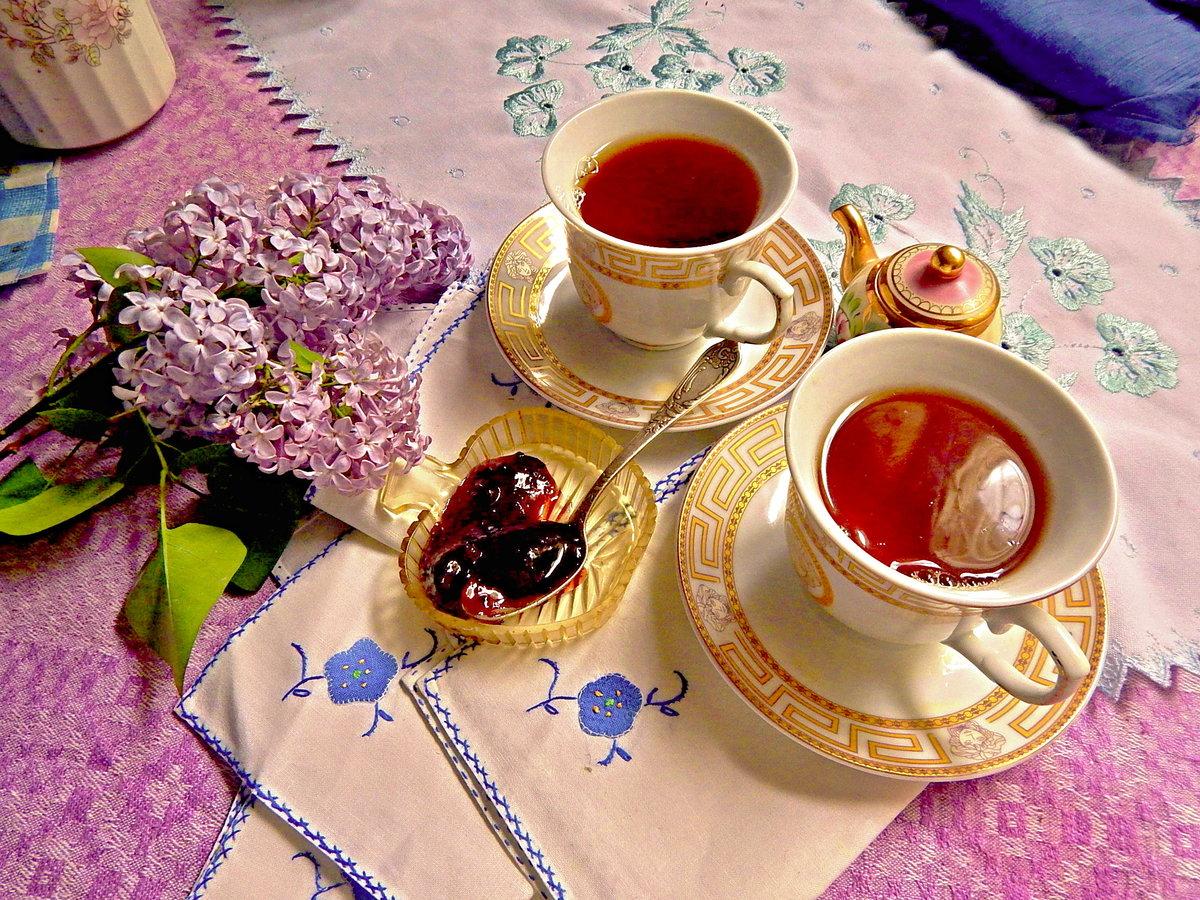 Картинки чай на двоих