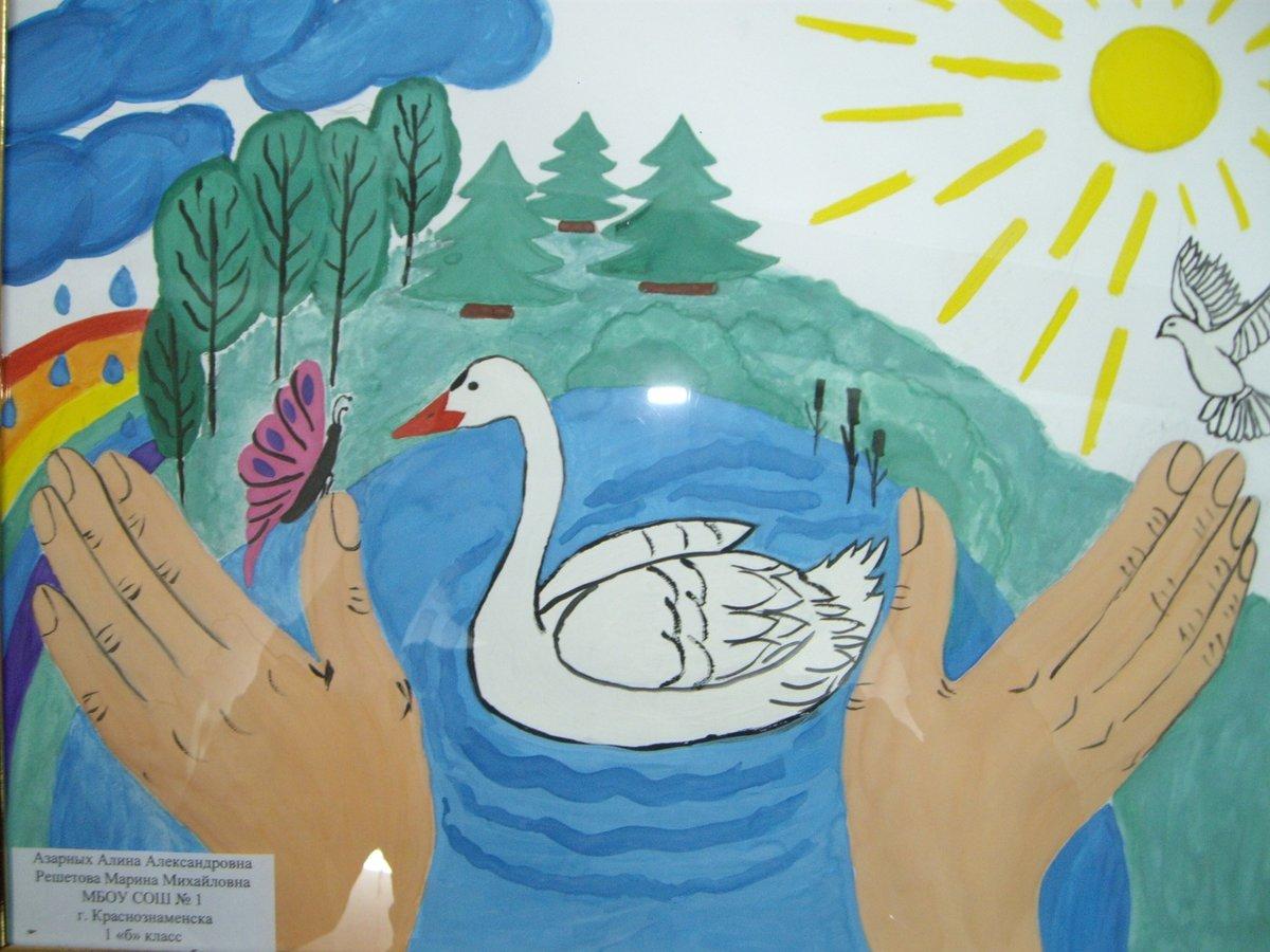 Картинки на тему экология глазами детей