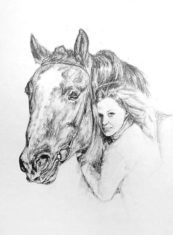 картинки нарисовать человека и животных подобных