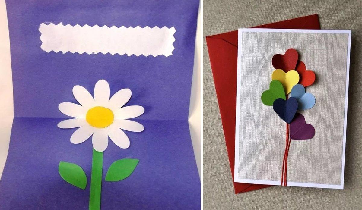 открытки в домашних условиях маме на день рождения