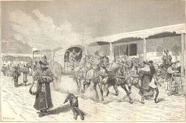 почтовые станции 19 века