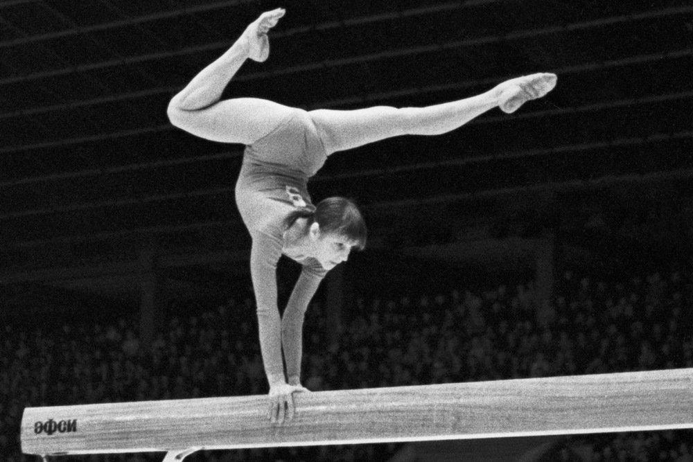 название гимнастки советского союза фото хорошо виден новоафонский