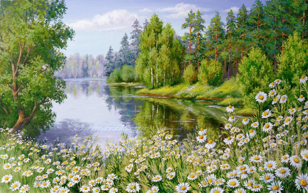 Поздравление насте, гиф открытки лето природа