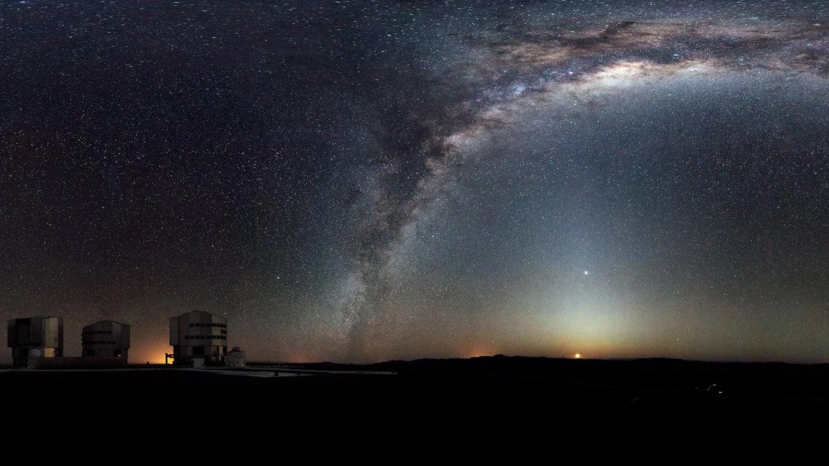 это хорошо панорамное фото звездное небо круговой обзор помощью сухих
