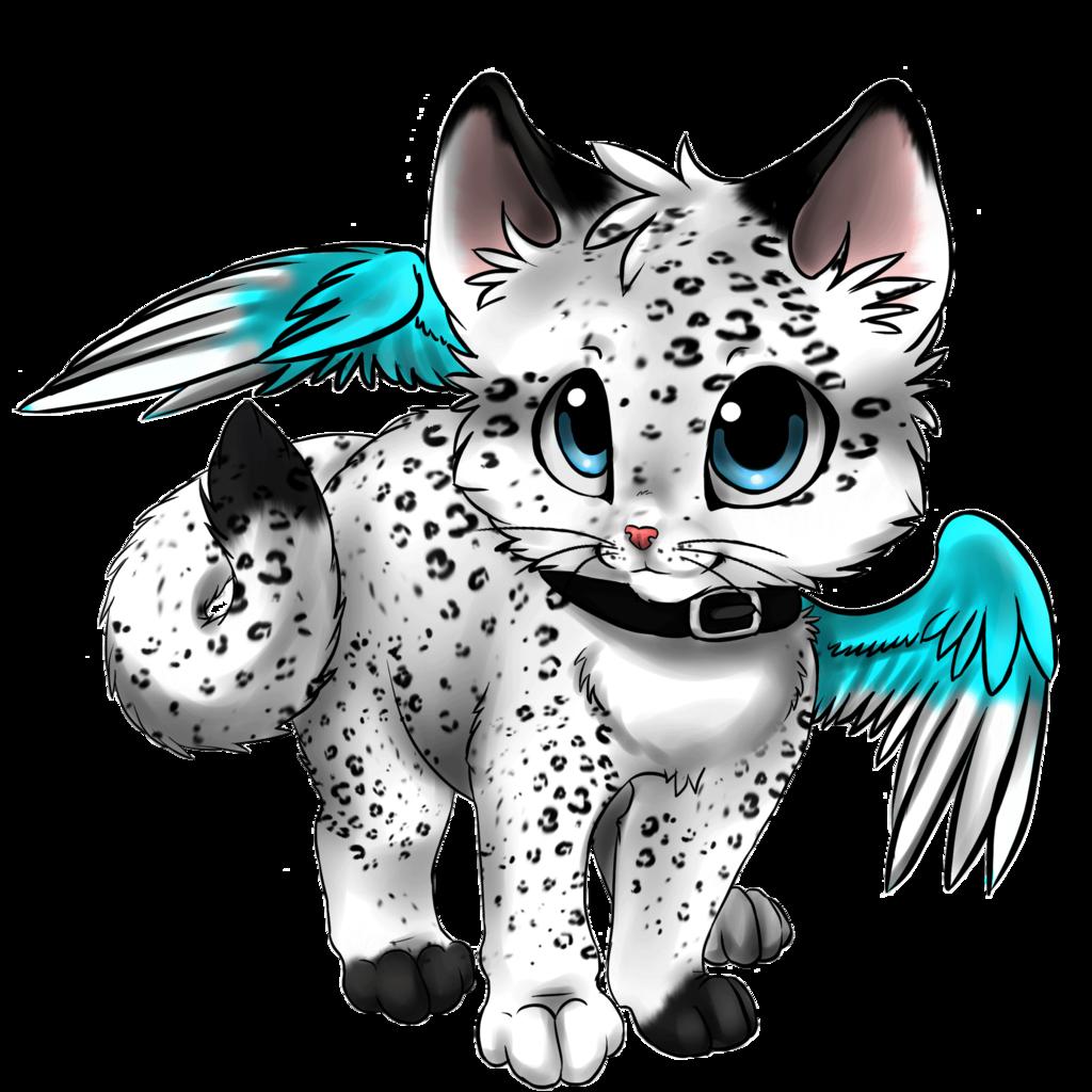 Картинки аниме кошки животные
