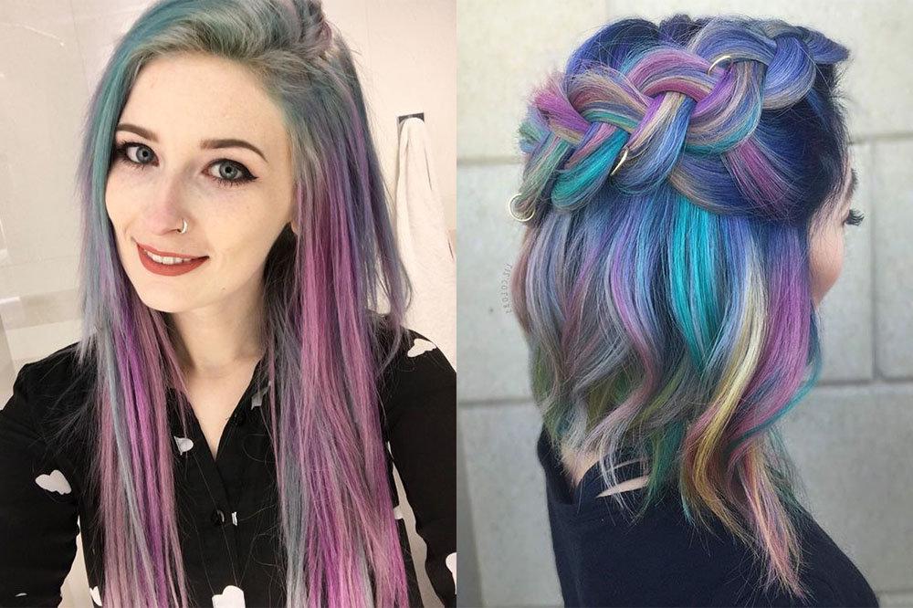 фотографии мелки для волос любовь будет