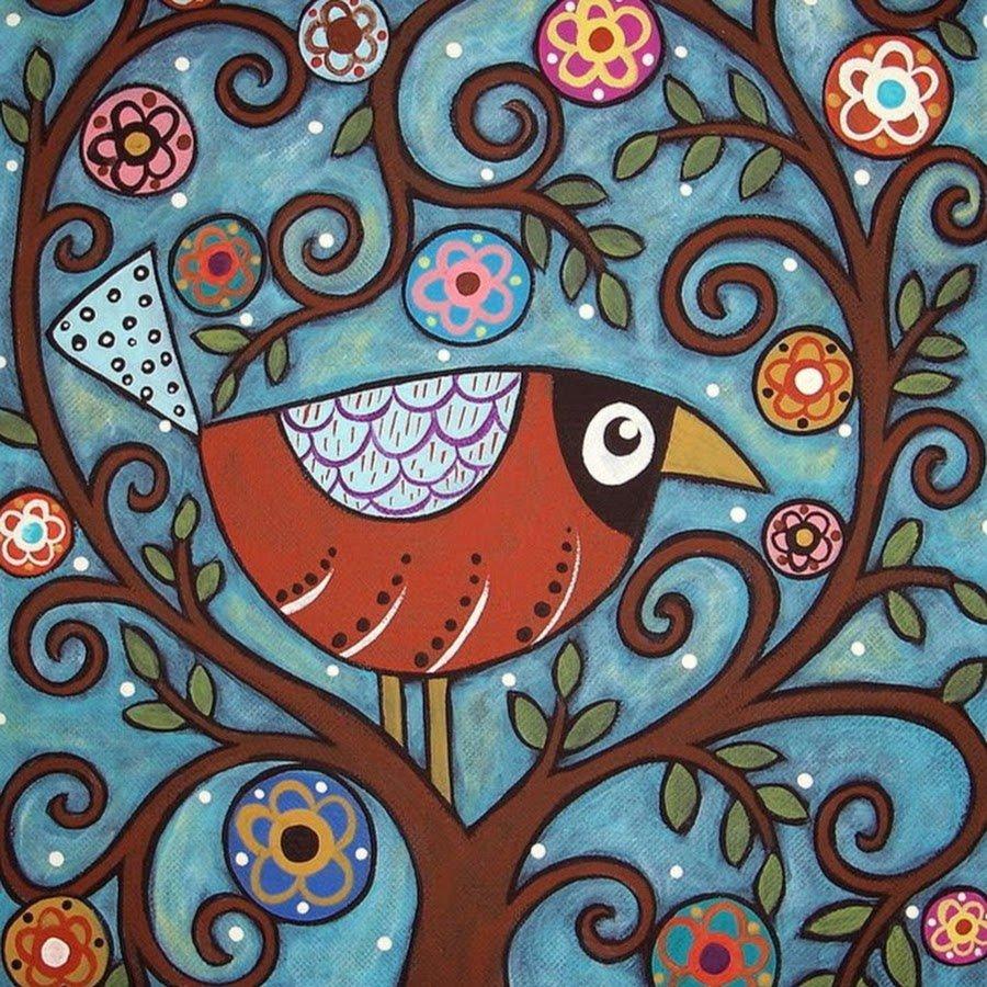 Картинки стилизованная птица