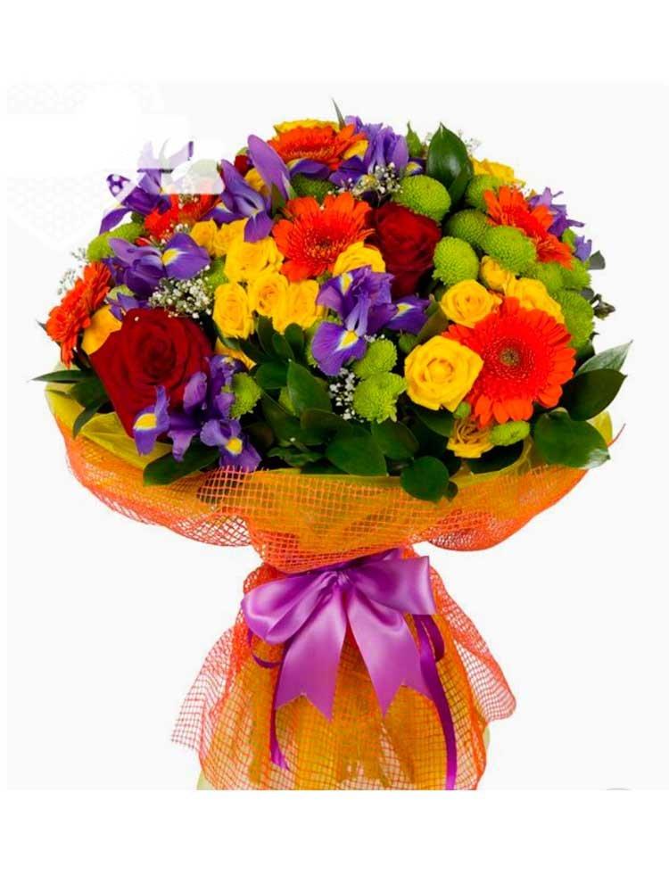 Недорогой букет в городе киеве, большой букет роз